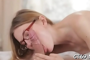Hard style of sex is exactly what makes our naughty battle-axe cum