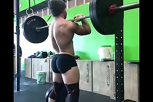 Sexy guy in gym