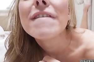 Required and fucked wits carnal knowledge machine Jane Doux nigh When Father Is Away