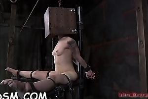 Demure chick receives wild plaything drilling for her vagina
