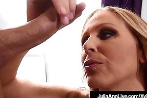 Staggering Milf Julia Ann Milks A Constant Cock Dry POV!