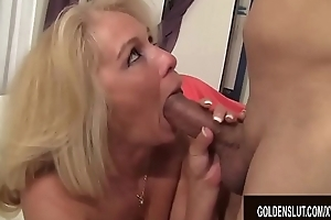 Doyen Blonde Slut Microscope spectacles Taylor Widens The brush Legs for Cock