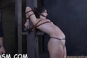 Cutie gets her anal and pussy stuffed with electric toys