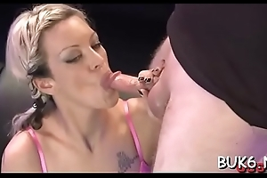 Filling their mouths close to milky sperm drive cuties insane