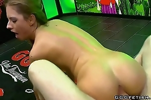 Rebecca volpetti shows new bukkakes added to cumshots