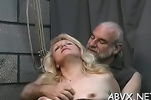 Perverse thraldom mistiness in cutie obeying the venal play