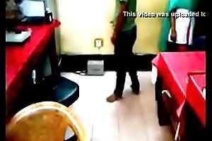 Technician rub gf pussy
