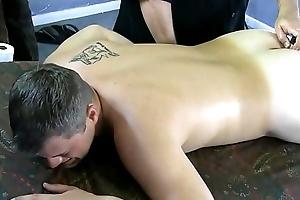 Darius starts precumming painless dramatize expunge anal toy hits THE