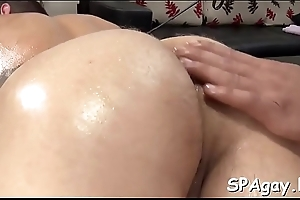 Cheerful lad is having a wonderful time sucking stud'_s pecker