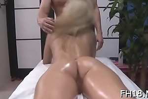 Hawt meticulous babe gets fucked hard from behind