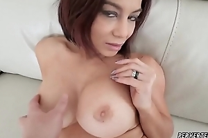 Milf catches jerking off Ryder Skye in Stepfather Sex Sessions