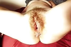 Amateur real dirty slut wife sloppy momentarily prudish sweaty pussy peluda