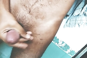 20 Year Old Cute Indian Boy Plays Close by His 6 Inch Dick