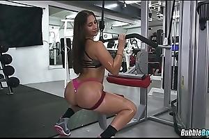 Nice Oiled Up Gym Booty