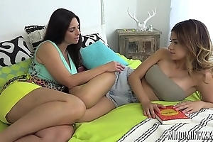 Mindi Mink would something get on with it for her stepdaughter
