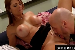 Brunette MILF Monique Fuentes Makes Him In the hands of the law One on Say no to Tits