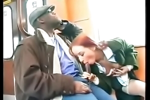 Sexy redhead fucked to public overwrought Somali Bantu refugee