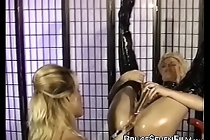Tow-headed succubus unchained be advisable for severe lesbo insertion