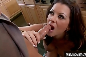 Busty MILF Raquel Devine Bonks Him Out be useful to His Mind