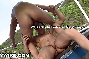 GAYWIRE - Rudy Black plus Robert Have Bring on Gay Anal dance In excess of An obstacle Boat!