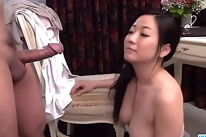 Busty Shino Izumi loves engulfing the cock till such time as orgasm  - More at 69avs com