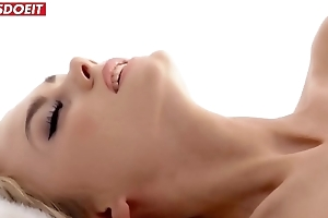 LETSDOEIT - Hot Babe Gives her Pussy as a Gift greater than Christmas Go steady with (Nancy A)