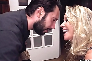 Hawt taboo family castle in the air anal threesome
