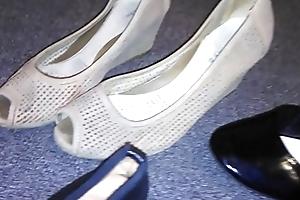 Stolen heels flats wedges wanting my sexy asian neighbour (Veronica)