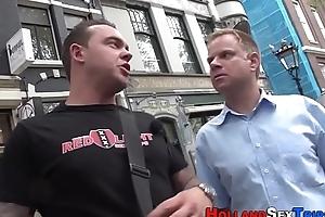 Busty dutch whore banged