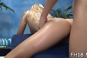 Hawt honey receives fucked hard and gives a massage!