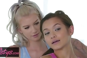 When Girls Play - (Alex De La FLor, Arya Fae) - Slumber Party - Twistys