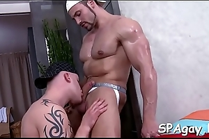 Dank hawt palpate set-to for horny homosexual stud