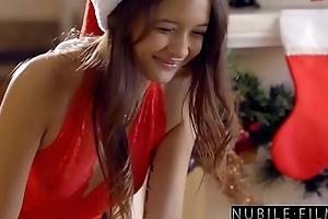 Christmas Jugs - Sexy Santa Eats Teen Pussy S30:E3