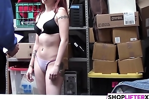 Pretty Sweety Cassidy Takes Officers Penis