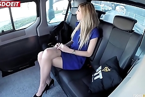 LETSDOEIT - Czech Pet Seduced and Fucked Hardcore in Uber