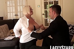 LACEYSTARR - Submissive GILF ass rammed by Pascal White