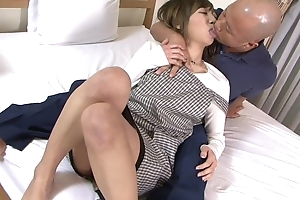 Asian dirty slut wife gets properly fucked by will not hear of husband