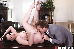 Perverted MILF with big tits acquires drilled everlasting in the meeting