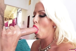 Eyeless XXX mature with Cyclopean tits and ass gets anal