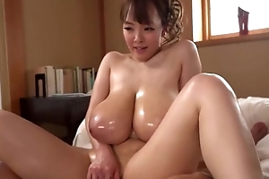 Stunning Asian girl shows off her excellent cock show in skills