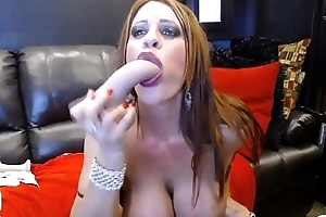 I'_m off colour MILF Jade with big tits fists her pussy with an increment of gets cum